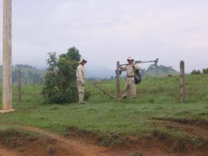 Feldarbeiter in Laos